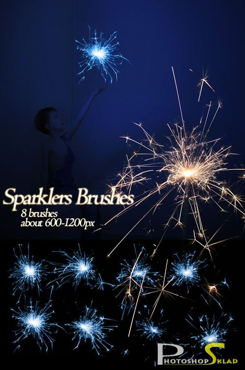 Sparklers Brushes
