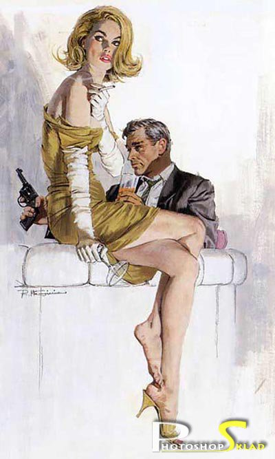 Графический рисунок - Robert Edward McGinnis
