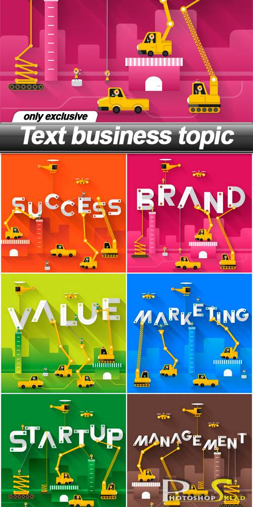 Text business topic